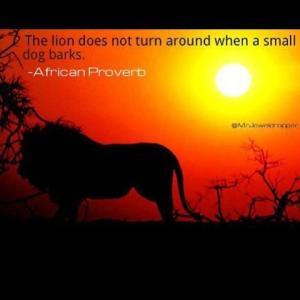 Lion.smalldog
